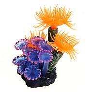 Akvarij Dekoracija Ukrasi Vodena biljka Plastika