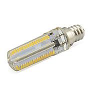 7W E12 LED-kornpærer Tube 152 SMD 3014 580 lm Varm hvit / Kjølig hvit Dekorativ V 1 stk.