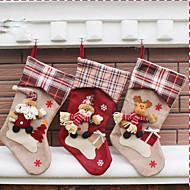 1Proteja) (estilos diferentes) Ornamento da casa ultramoderna decorações de Natal meia do natal