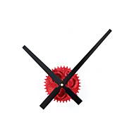 Modern/Çağdaş / Retro Tatil / İlham Verici / Aile / Karton Duvar Saati,Yuvarlak / Yenilik Akrilik / Cam / Metal 30cm(12in)İç Mekan /Dış