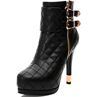 baratos Sapatos de Tamanho Pequeno-Feminino Botas Gladiador Botas Cowboy/Country Botas de Neve Botas da Moda Curta/Ankle Coturnos Sintético Primavera Outono InvernoCasual