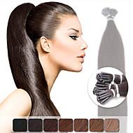 私は融着人間の髪の毛の拡張機能の1グラム/ sの色が選択したプリTP neitsi 20 '' 50グラムのスティックのり