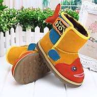 baratos Sapatos de Menino-Para Meninos Sapatos Pêlo Inverno Botas de Neve Botas para Amarelo / Verde