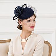 成人用 ウール シルク ネット かぶと-結婚式 パーティー カジュアル ヘッドドレス ハット 1個
