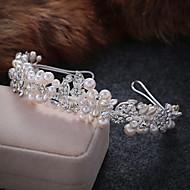 Imitação de Pérola / Liga Tiaras / Headbands com 1 Casamento / Ocasião Especial / Casual Capacete