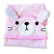 ピンクの綿のクリーニング犬バスタオル1PS