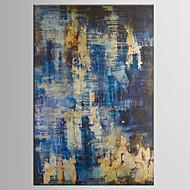 billiga Oljemålningar-Hang målad oljemålning HANDMÅLAD - Abstrakt Klassisk Moderna Duk