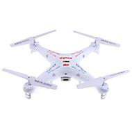 Χαμηλού Κόστους -RC Ρομποτάκι SYMA X5C 4 Kανάλια 6 άξονα 2,4 G Με κάμερα HD 2.0MP 720P Ελικόπτερο RC με τέσσερις έλικες Φώτα LED / Περιστροφική πτήση 360