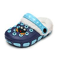 baratos Sapatos de Menino-Para Meninos Sapatos Silicone Primavera / Outono Conforto Chinelos e flip-flops Caminhada Presilha / Flor para Rosa claro / Azul marinho