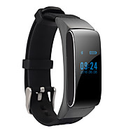 billige Smartklokker-Smart armbånd Android Kalorier brent / Pedometere / Lyd Søvnmonitor / Håndfri bruk / Beskjedkontroll / 100-120 / Kamerakontroll / Sport