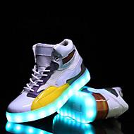 ieftine -Bărbați Pantofi Sintetic Primăvară / Toamnă Confortabili / Cizme la Modă / Pantofi Usori Adidași Alb / Negru