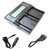 ismartdigi lpe6 LCD încărcător cu cablu dublu taxa auto pentru Canon 5D2 5d3 7d 6d 7d2 60D 70D batterys aparat de fotografiat