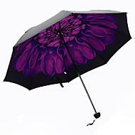 Violetti Taitettava sateenvarjo Auringonvarjo Plastic Rattaat