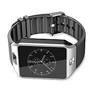 tanie Inteligentne zegarki-Inteligentny zegarek na iOS / Android Odbieranie bez użycia rąk / Ekran dotykowy / Kamera / aparat / Krokomierze / Obsługa wiadomości Stoper / Rejestrator aktywności fizycznej / Rejestrator snu