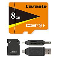 Caraele 8GB マイクロSDカードTFカード メモリカード UHS-I U1 クラス10