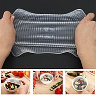 סיליקון מזון טריים השמירה עטיפות הקסם האריזה מטבח משמר פלסטיק כיסוי הסרט כיסוי