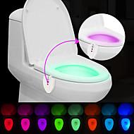 brelong opgraderede vandtæt uv sterlization lyssensor menneskeskabte farveskift toilet lys
