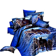 Duvet Cover Set,3D Print Bedding Comforter Sets Bedspreads Sheets Bed in A Bag Fashion Home Quilt Linen