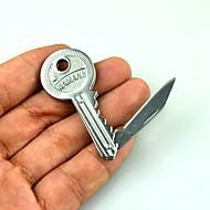 baratos Talheres-ferramentas manuais tático ao ar livre de acampamento de sobrevivência lâmina de aço inoxidável dobrável faca de bolso mini-chaveiro