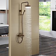High Quality Antique Brass Bathroom Shower Faucet Set