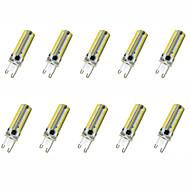 billige Kornpærer med LED-4W 400-500lm G9 / G4 LED-kornpærer T 152LED LED perler SMD 3014 Dekorativ Varm hvit / Kjølig hvit 220V / 110V / 220-240V