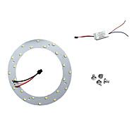 12W valkoinen 6500K 5730 x 24 SMD LED johti katto valoa paneelit voimalla magneetti