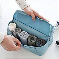 2 L Toiletry Bag Traveling Waterproof Zipper Cloth