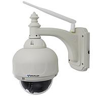 billige IP-kameraer-vstarcam® 1.0mp wi-fi vanntett sikkerhetsovervåking ip kamera (ptz / 4x zoom 15m nattesyn p2p support 128gb tf)