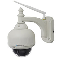 billige IP-kameraer-VStarcam C7833WIP-X4 1.0 MP Utendørs with IR-kutt Zoom 128(Dag Nat Bevegelsessensor Dobbeltstrømspumpe Fjernadgang Vanntett Plug and play