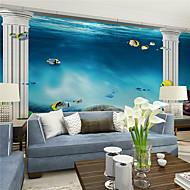 billige Tapet-Art Deco Hjem Dekor Moderne Tapetsering, Lerret Materiale selvklebende nødvendig Veggmaleri, Tapet