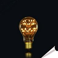 baratos Incandescente-1pç 2 E27 E26 B22 A60(A19) Branco Quente Branco Frio Branco Natural 2300 K Lâmpadas de Filamento de LED 220V 85-265V