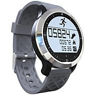 tanie Inteligentne zegarki-Inteligentny zegarek Ekran dotykowy Pulsometr Wodoszczelny Spalone kalorie Krokomierze Sportowy Rejestrator snu Budzik Powiadamianie o