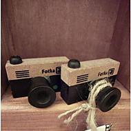 timbru de epocă camera model de lemn (culori aleatorii)