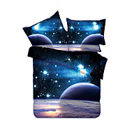 Bedtoppings Duvet Cover 4PCS Set (Random Pattern) Universe Style