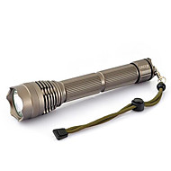 cheap Flashlights & Camping Lanterns-LED Flashlights / Torch LED 2000 lm 3 Mode LED with Battery and Charger Zoomable Adjustable Focus Waterproof Super Light Compact Size