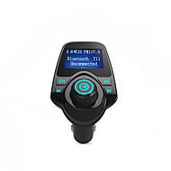 Bluetooth transmissor FM apoio TF cartão, u disco, carregador de carro