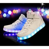 tanie Obuwie chłopięce-Dla chłopców Obuwie PU Zima Wygoda / Świecące buty Buty do lekkiej atletyki na Czarny / Srebro / Czerwony