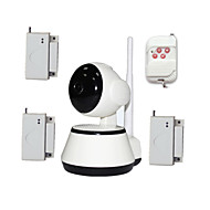 WIFI Video Baby Monitor Security IP Camera HD For Old Kids Safety With Wireless Door Window Open Burglar Alarm Sensor