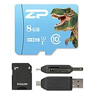 ZP 8GB MicroSD Luokka 10 80 Other Useita yhdessä kortinlukijan Micro SD-kortinlukija SD-kortinlukija ZP-1 USB 2.0