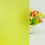 tanie סרטים ומדבקות לחלון-Folie okienne i naklejki Dekoracja Współczesny Jendolity kolor PVC / Vinyl Folia okienna / Jadalnia / Sypialnia / Biuro / Pokój dla dzieci / Salon