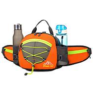 billige Rygsække og tasker-15 L Bæltetasker / Skuldertaske / rygsæk - Vandtæt, Reflekterende, Regn-sikker Udendørs Campering & Vandring, Cykling / Cykel, Rejse Net, Nylon, Vandtæt materiale Sort, Orange, Rød