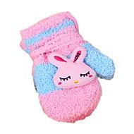 女の子 手袋,コットン 冬