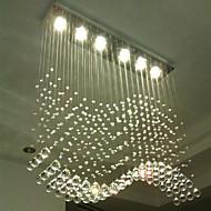 billige Takbelysning og vifter-6-Light Krystall Anheng Lys Nedlys - Krystall, LED, 110-120V / 220-240V, Varm Hvit / Kald Hvit, Pære Inkludert / GU10 / 10-15㎡