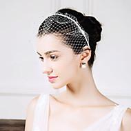 Umjetno drago kamenje Net Trake za kosu Vjeverica kose 1 Vjenčanje Special Occasion Kauzalni Glava