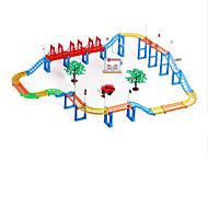 ちびっ子変装お遊び 電車おもちゃ用線路 自動車おもちゃ おもちゃ 車載 アイデアジュェリー DIY 男の子 女の子 116 小品