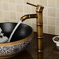 preiswerte -Antike Modern Mittellage Verbreitete Keramisches Ventil Ein Loch Einhand Ein Loch Chrom, Waschbecken Wasserhahn