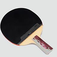 3 Sterne Ping Pang/Tischtennis-Schläger Ping Pang Gummi Kurzer Griff Roh-Kautschuk