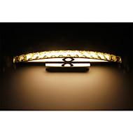 billige Krystall Vegglys-Moderne / Nutidig Baderomsbelysning Metall Vegglampe IP44 90-240V 0.2W