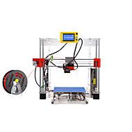 raiscube r1-w branco em acrílico impressora 3D DIY (embalagem com pla 0,5 kg e instalar ferramentas)