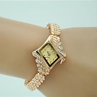 billige Quartz-Dame Armbåndsur Quartz Imiteret Diamant Legering Bånd Analog Vedhæng Mode Elegant Guld - Guld Et år Batteri Levetid / Tianqiu 377